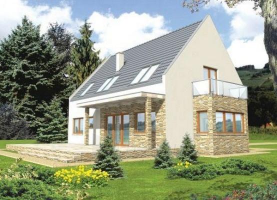 Individual house project 'Gerda' Paveikslėlis 1 iš 1 238520000195
