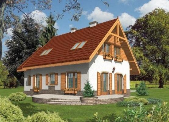 Individualaus namo projektas 'Islaja G1' Paveikslėlis 1 iš 1 238510000077