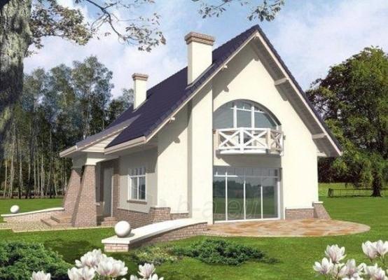 Individual house project 'Jantrė' Paveikslėlis 1 iš 1 238520000210