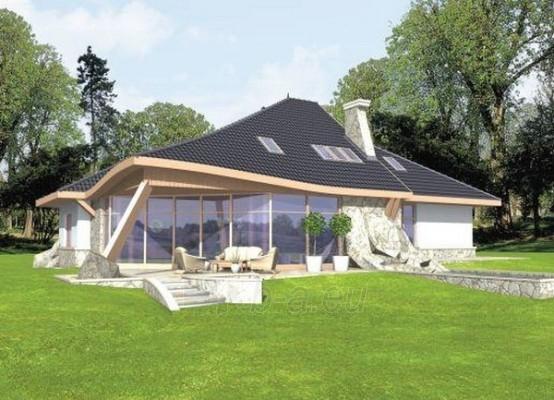 Individual house project 'Jokūbas' Paveikslėlis 1 iš 1 238520000245