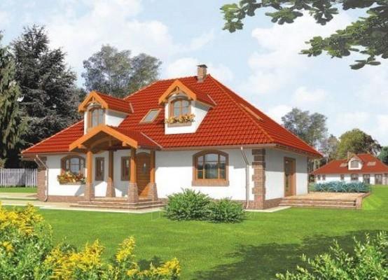 Individualaus namo projektas 'Kiara' Paveikslėlis 1 iš 1 238520000241