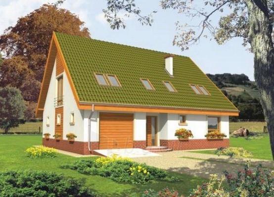 Individualaus namo projektas 'Kika' Paveikslėlis 1 iš 1 238520000188