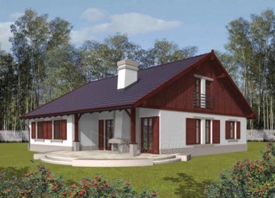 Individual house project 'Klementina' Paveikslėlis 1 iš 1 238520000023