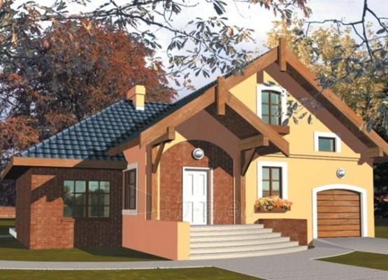 Individualaus namo projektas 'Ksena I' Paveikslėlis 1 iš 1 238520000009