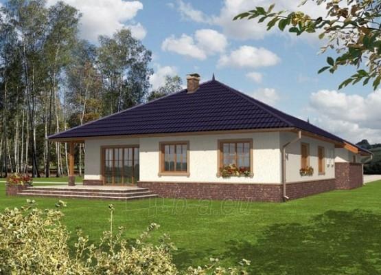 Individualaus namo projektas 'Lotė' Paveikslėlis 1 iš 1 238520000162