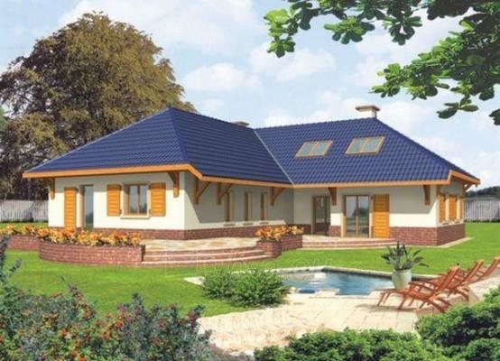 Individual house project 'Lunija' Paveikslėlis 1 iš 1 238520000178