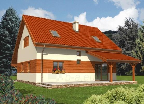 Individualaus namo projektas 'Mantė' Paveikslėlis 1 iš 1 238510000008