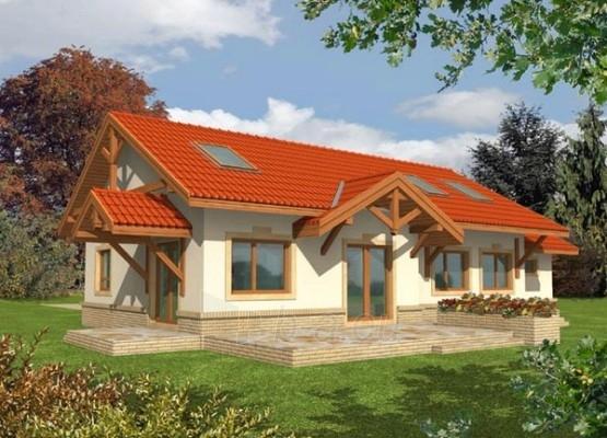 Individual house project 'Marcė' Paveikslėlis 1 iš 1 238520000125