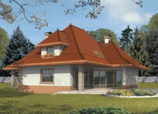 Individualaus namo projektas 'Marcelė' Paveikslėlis 1 iš 1 238520000012