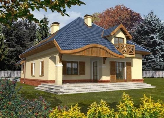 Individualaus namo projektas 'Miglė' Paveikslėlis 1 iš 1 238520000049