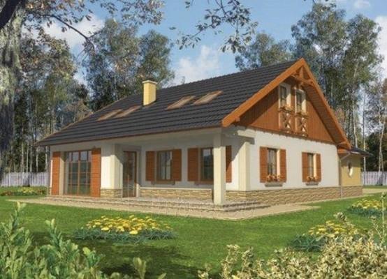 Individual house project 'Miriam' Paveikslėlis 1 iš 1 238520000183
