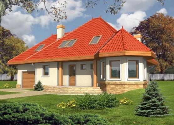 Individualaus namo projektas 'Modesta' Paveikslėlis 1 iš 1 238520000037