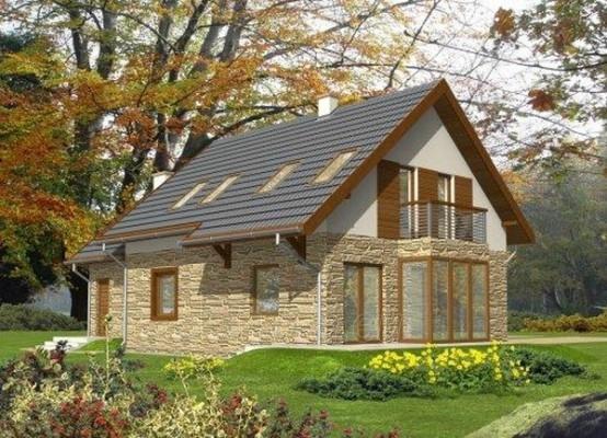Individual house project 'Nikė' Paveikslėlis 1 iš 1 238520000209