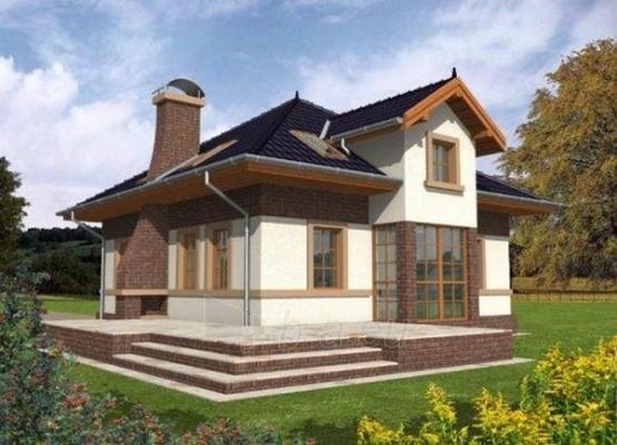 Individual house project 'Niobė' Paveikslėlis 1 iš 1 238520000203