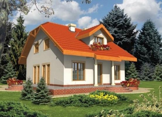 Individual house project 'Perla' Paveikslėlis 1 iš 1 238520000173