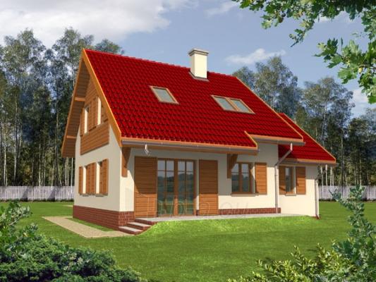 Individualaus namo projektas 'Raisa' Paveikslėlis 1 iš 1 238510000012