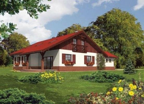 Individual house project 'Rasa' Paveikslėlis 1 iš 1 238520000168