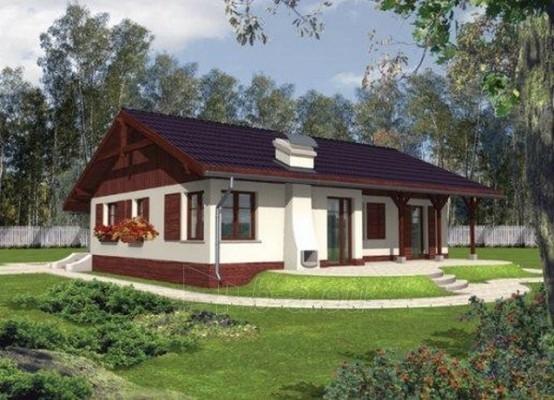 Individualaus namo projektas 'Romina' Paveikslėlis 1 iš 1 238510000049