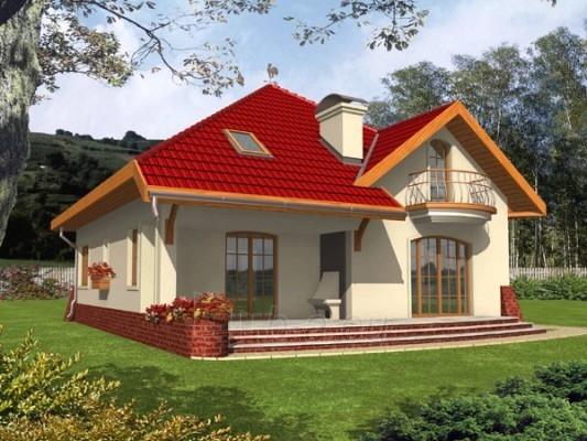 Individual house project 'Rosita' Paveikslėlis 1 iš 1 238520000047