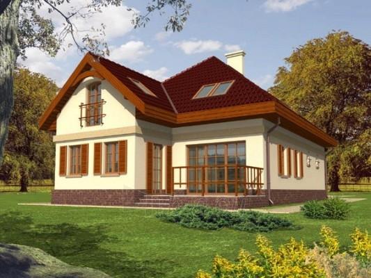 Individual house project 'Rozalija' Paveikslėlis 1 iš 1 238520000039