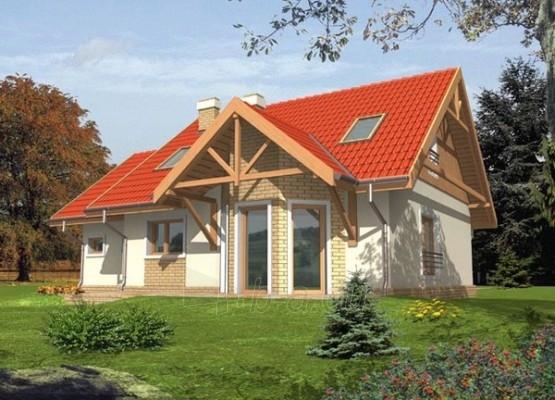 Individualaus namo projektas 'Sabrina' Paveikslėlis 1 iš 1 238510000014