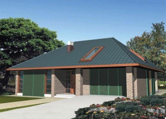 Individual house project 'Saša' Paveikslėlis 1 iš 1 238520000165