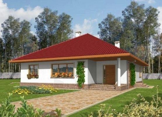 Individual house project 'Suzi' Paveikslėlis 1 iš 1 238520000235