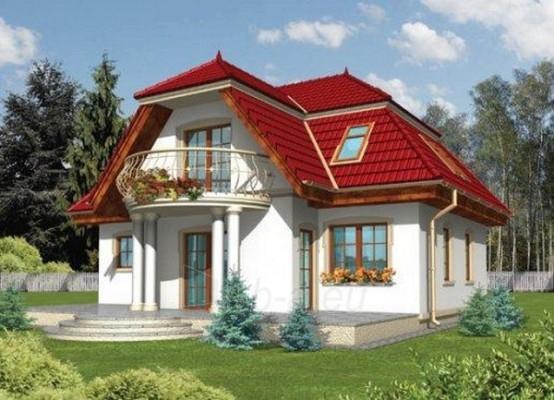 Individual house project 'Virginija' Paveikslėlis 1 iš 1 238520000172