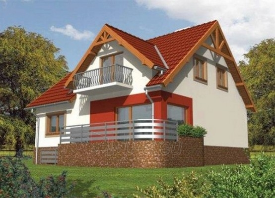 Individualaus namo projektas 'Zina' Paveikslėlis 1 iš 1 238510000058