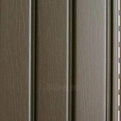 J profilis fasado apdailai, šokolado spalvos Paveikslėlis 2 iš 2 237714000398