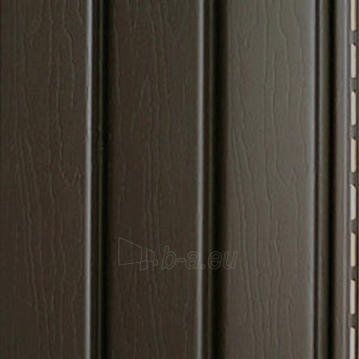 J profilis fasado apdailai, tamsiai rudas Paveikslėlis 2 iš 2 237714000156