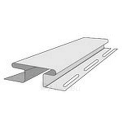 Jungimo profilis H fasado apdailai, pilkas Paveikslėlis 1 iš 2 237714000163