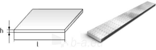 Flat bar 50x4 S235JR+AR Paveikslėlis 1 iš 1 210320000192