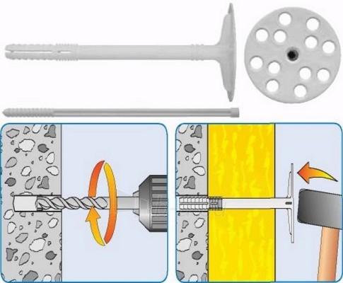 Kaištis išsiplečiantis su plast. vin. 10x90 Paveikslėlis 1 iš 1 236233000011
