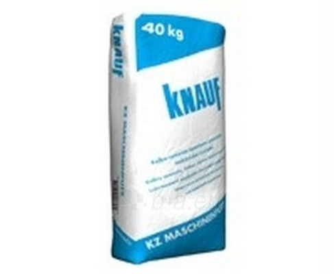 Dry lime cement plaster Knauf KZ Mashinenputz 40 kg Paveikslėlis 1 iš 1 236760200017