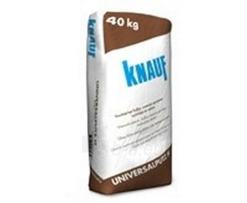 Kalkių ir cemento tinkas Knauf Universalputz H 40 kg Paveikslėlis 1 iš 1 236760200018