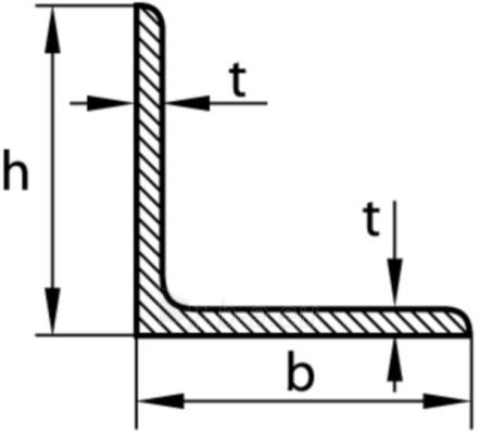 Angle steel 130x65x10 Paveikslėlis 1 iš 1 210320000104