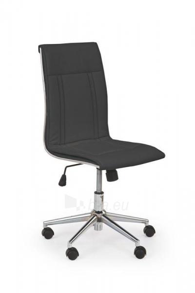 Biuro kėdė darbuotojui PORTO juoda Paveikslėlis 1 iš 3 250462100033