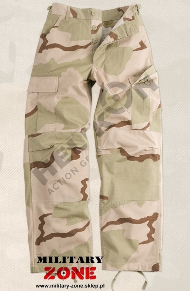 Kelnės BDU Helikon desert 3 smėlio spalvos maskuotė US ARMY Paveikslėlis 1 iš 1 251510400034