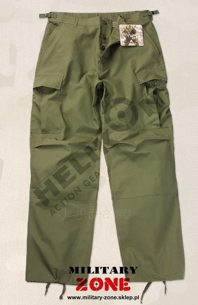 Kelnės BDU Helikon kareiviškos alyvuogių spalvos maskuotė Paveikslėlis 1 iš 1 251510400035
