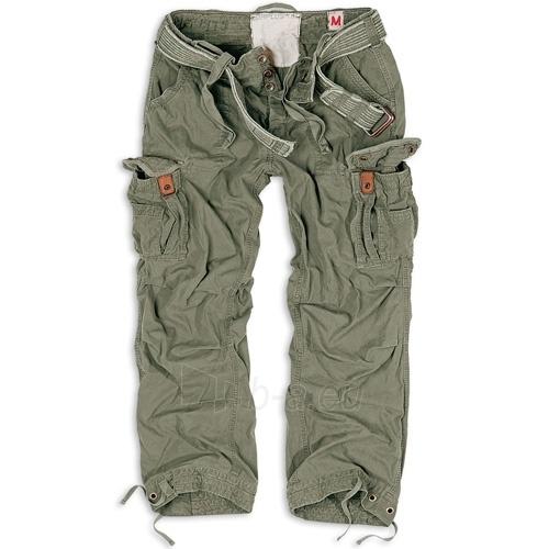Kelnės Premium Vintage Surplus alyvuogių spalvos Paveikslėlis 1 iš 1 251510400058