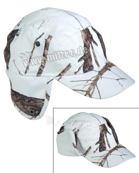 Kepurė žieminė Camouflage medžioklinė su snapeliu - Hunter Snow Wild Trees 11958251 Paveikslėlis 1 iš 1 251510700058