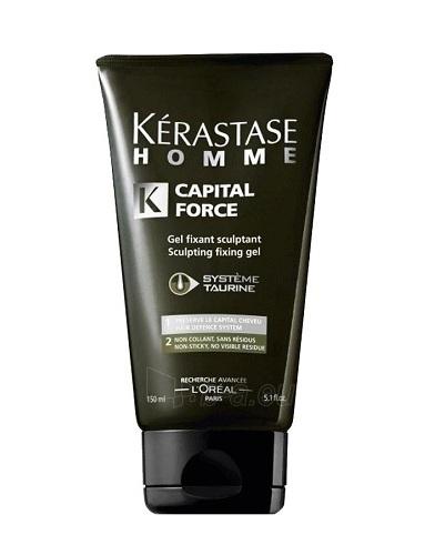 Kerastase Homme Capital Force Fixing Gel Cosmetic 150ml Paveikslėlis 1 iš 1 250832500006
