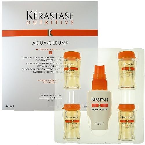 Kerastase Nutritive Aqua Oleum Nutri Huile2 4x12ml Cosmetic 48ml Paveikslėlis 1 iš 1 250832400015