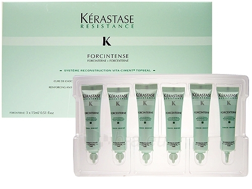 Kerastase Resistance Forcintense 3x15ml Cosmetic 45ml Paveikslėlis 1 iš 1 250832400027