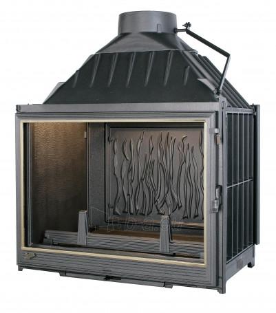 Ketinis židinio ugniakuras Seguin Multivision 7000   su tiesiu stiklu 16-22.4 kW Paveikslėlis 1 iš 1 271330000091