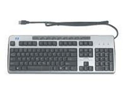 Klaviatūra HP 2004 STANDARD KEYBOARD USB Paveikslėlis 1 iš 1 250255700018