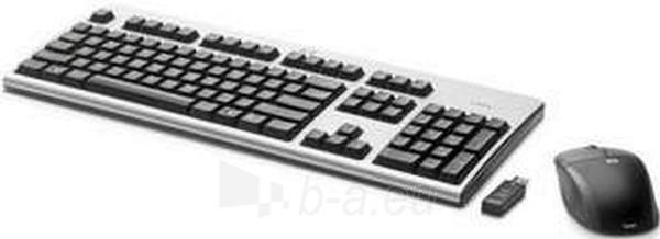 Klaviatūra HP WIRELESS KEYBOARD & MOUSE Paveikslėlis 1 iš 1 250255700082