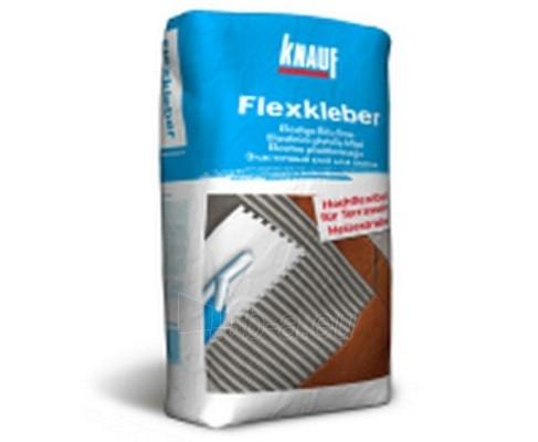 Klijai plytelėms KNAUF Flex-kleber 12 kg Paveikslėlis 1 iš 1 236780600089