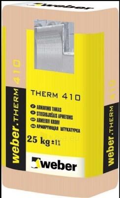 Klijavimo ir armavimo mišinys Weber therm 410 25kg Paveikslėlis 1 iš 1 236780200001